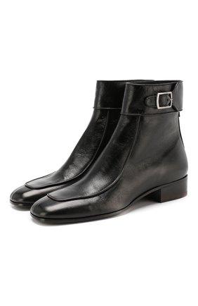 Кожаные ботинки Miles | Фото №1