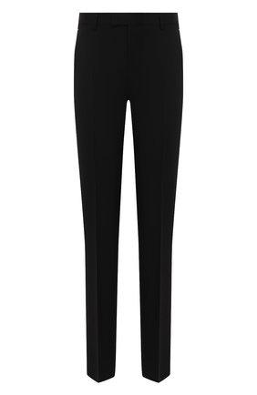 Мужской шерстяные брюки BERLUTI черного цвета, арт. R15TTU33-003 | Фото 1