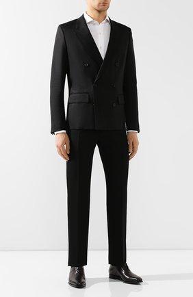Мужские кожаные оксфорды BERLUTI черного цвета, арт. S4759-002 | Фото 2