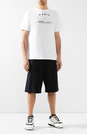 Мужские комбинированные кроссовки BERLUTI белого цвета, арт. S4781-001 | Фото 2