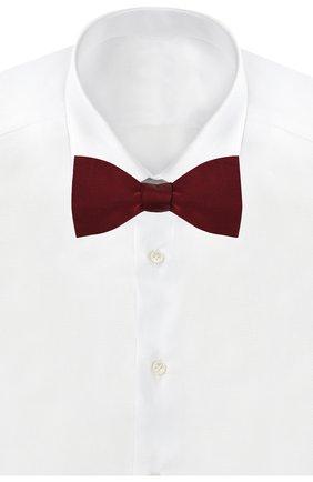 Мужской шелковый галстук-бабочка VAN LAACK бордового цвета, арт. ANDRE/K00160   Фото 2