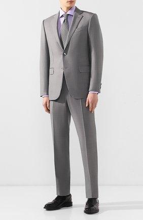 Мужская хлопковая сорочка VAN LAACK сиреневого цвета, арт. TIVARA2-PSF/160935 | Фото 2