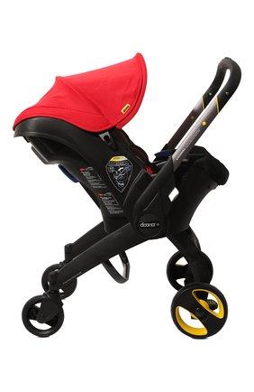 Детская коляска-автокресло doona+ SIMPLE PARENTING красного цвета, арт. SP150-20-031-015 | Фото 2 (Статус проверки: Проверена категория; Ограничения доставки: oversized)
