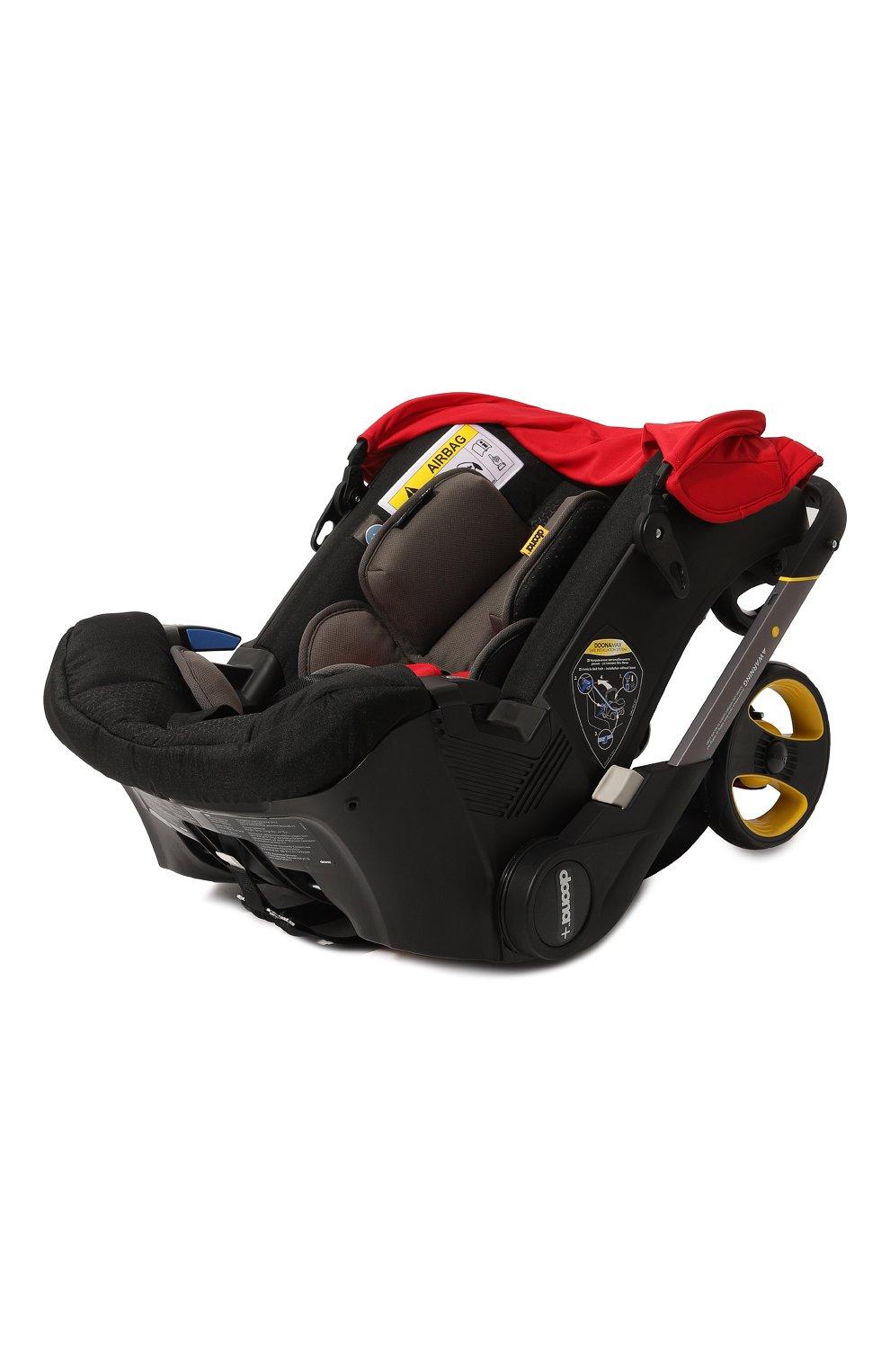 Детская коляска-автокресло doona+ SIMPLE PARENTING красного цвета, арт. SP150-20-031-015 | Фото 3 (Статус проверки: Проверена категория; Ограничения доставки: oversized)