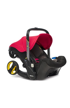 Детская коляска-автокресло doona+ SIMPLE PARENTING красного цвета, арт. SP150-20-031-015 | Фото 4 (Статус проверки: Проверена категория; Ограничения доставки: oversized)