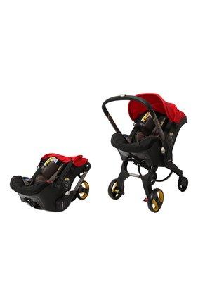 Детская коляска-автокресло doona+ SIMPLE PARENTING красного цвета, арт. SP150-20-031-015 | Фото 5 (Статус проверки: Проверена категория; Ограничения доставки: oversized)