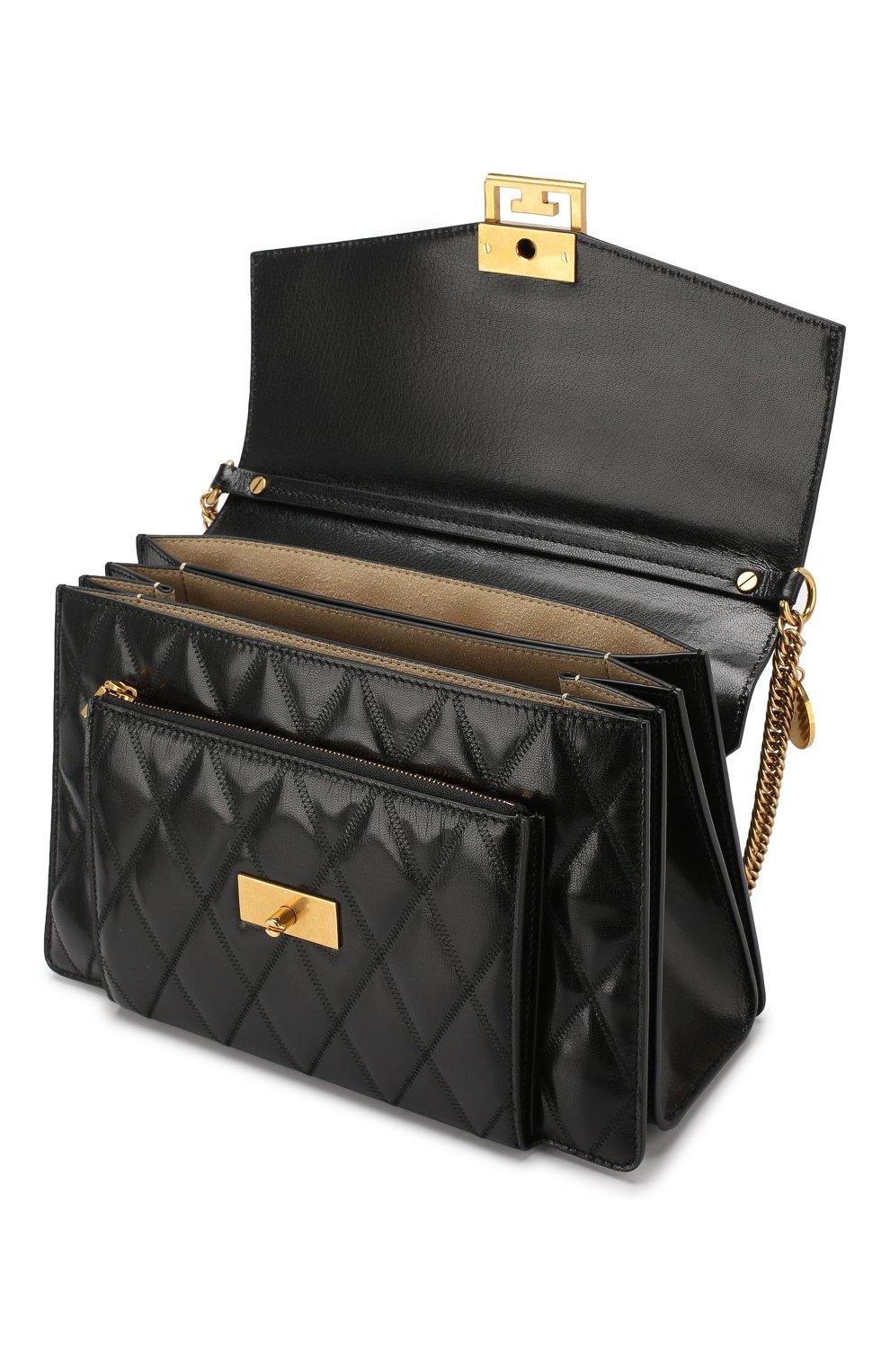 Сумка GV3 medium Givenchy черная цвета   Фото №4