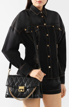 Сумка GV3 medium Givenchy черная цвета   Фото №5