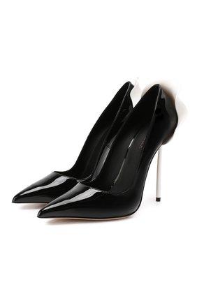 Кожаные туфли Petalo | Фото №1