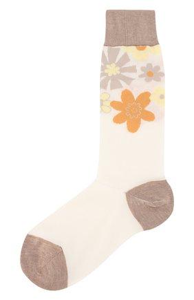 Женские хлопковые носки MARNI разноцветного цвета, арт. SKMC0036Q0/FC1A6 | Фото 1