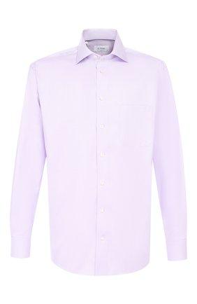 Мужская хлопковая сорочка ETON сиреневого цвета, арт. 3441 79011 | Фото 1