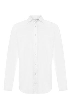 Мужская хлопковая рубашка с воротником кент VAN LAACK белого цвета, арт. TET2-PTF/160872 | Фото 1