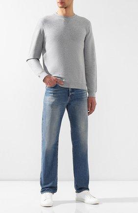 Мужской хлопковый свитшот SUNSPEL серого цвета, арт. MSWE1516 | Фото 2