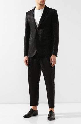 Мужские кожаные оксфорды SILVANO SASSETTI черного цвета, арт. S19827XW06DDIVINER. | Фото 2