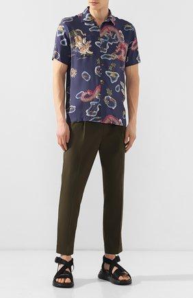 Мужская рубашка из вискозы RRL разноцветного цвета, арт. 782733266   Фото 2