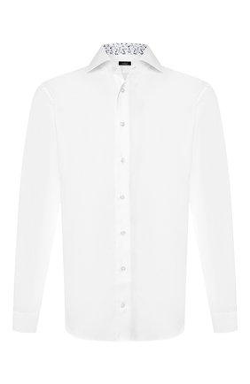 Мужская хлопковая рубашка VAN LAACK белого цвета, арт. TIVARA2-TF05/150184 | Фото 1