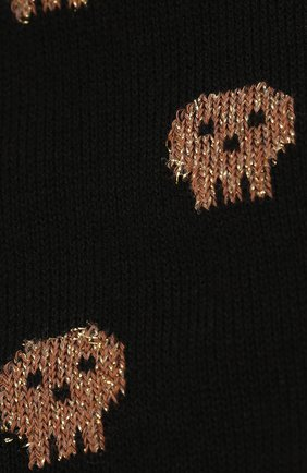 Мужские хлопковые носки COLLIROSSI черного цвета, арт. UFE4050-36/1 | Фото 2