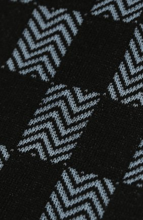 Мужские хлопковые носки COLLIROSSI темно-синего цвета, арт. UFE4050-31/1 | Фото 2