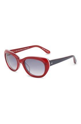Детские солнцезащитные очки OLIVER GOLDSMITH красного цвета, арт. S0PHIA | Фото 1