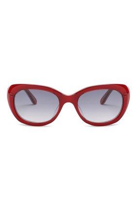 Детские солнцезащитные очки OLIVER GOLDSMITH красного цвета, арт. S0PHIA | Фото 2