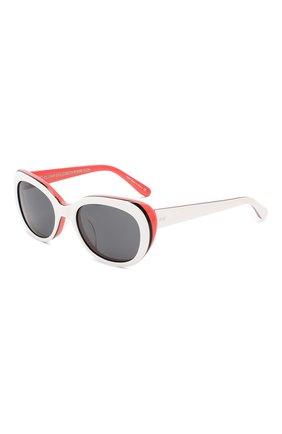 Детские солнцезащитные очки OLIVER GOLDSMITH белого цвета, арт. S0PHIA | Фото 1