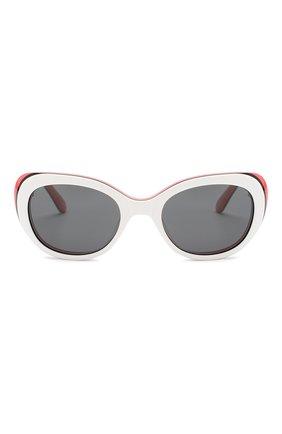 Детские солнцезащитные очки OLIVER GOLDSMITH белого цвета, арт. S0PHIA | Фото 2