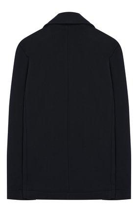 Детский двубортный пиджак из хлопка BALMAIN синего цвета, арт. 6K2520/KX070/12-16 | Фото 2