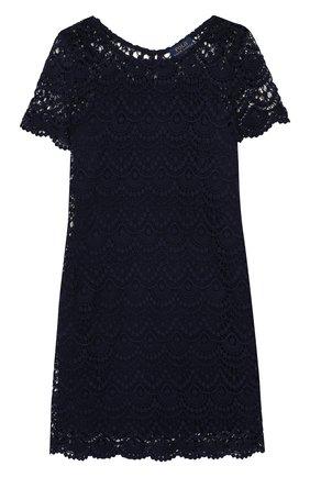 Кружевное платье из хлопка | Фото №1