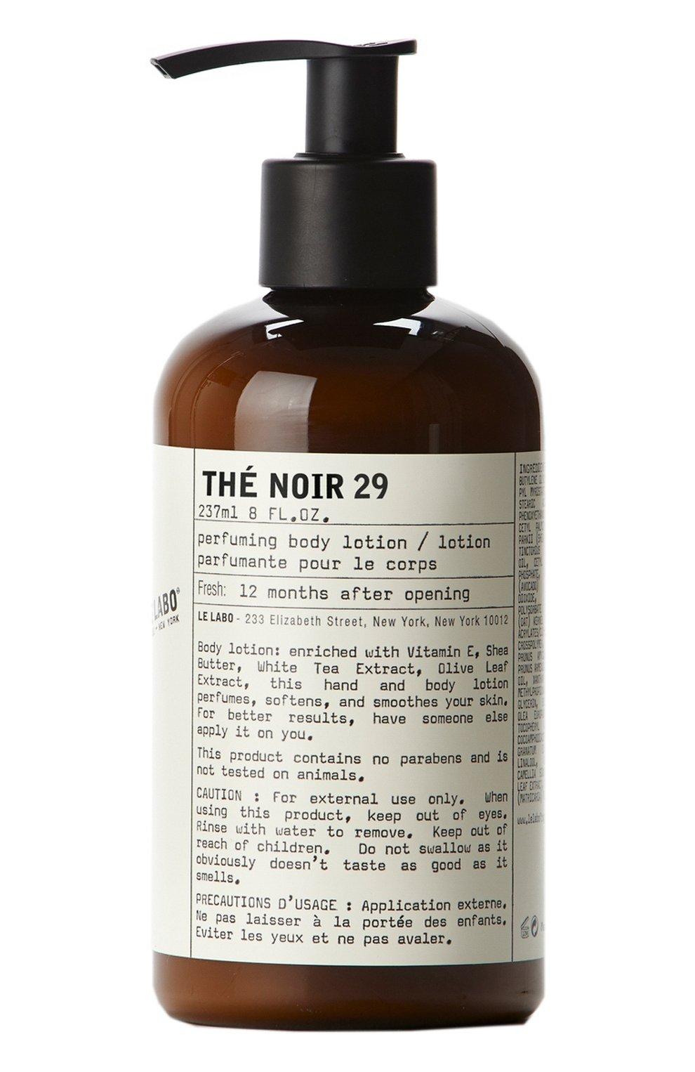 Лосьон для тела Thé Noir 29 | Фото №1
