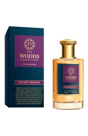 Женский парфюмерная вода secret source THE WOODS COLLECTION бесцветного цвета, арт. 3700796900528 | Фото 2
