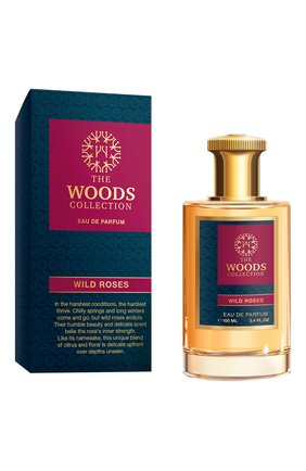 Женский парфюмерная вода wild roses THE WOODS COLLECTION бесцветного цвета, арт. 3700796900542 | Фото 2
