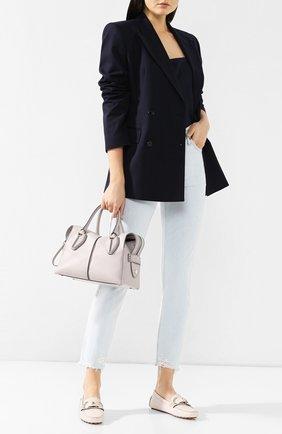 Женская сумка d-styling TOD'S светло-серого цвета, арт. XBWANYH0200XPA | Фото 2