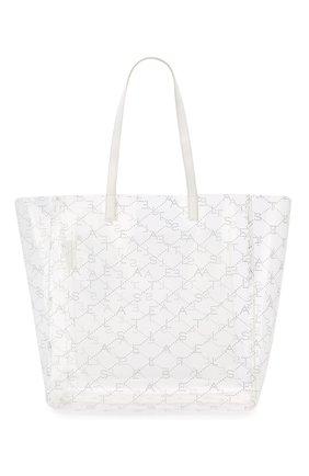 Женская сумка-тоут monogram  STELLA MCCARTNEY прозрачного цвета, арт. 541619/W8464 | Фото 1
