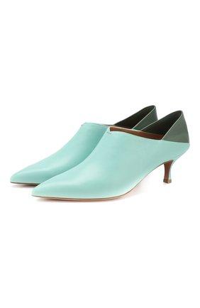 Кожаные туфли Simone | Фото №1