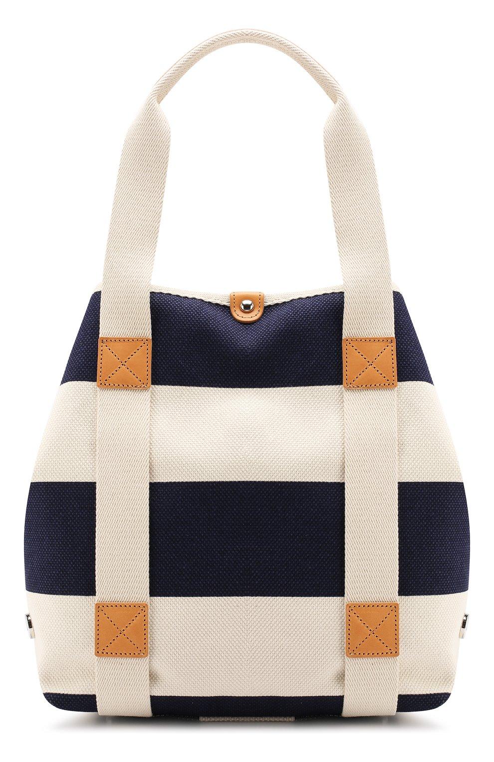 Женская текстильная сумка BONFANTI синего цвета, арт. 641898/NAVY   Фото 1 (Материал: Текстиль; Статус проверки: Проверена категория; Размер: large)