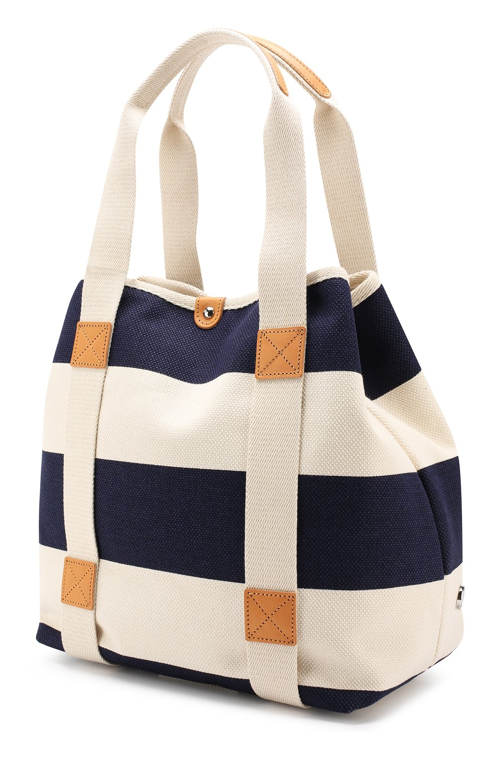 Женская текстильная сумка BONFANTI синего цвета, арт. 641898/NAVY   Фото 3 (Материал: Текстиль; Статус проверки: Проверена категория; Размер: large)