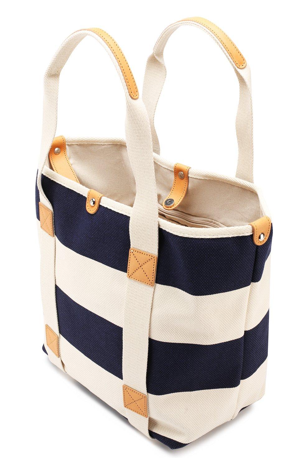 Женская текстильная сумка BONFANTI синего цвета, арт. 641898/NAVY   Фото 4 (Материал: Текстиль; Статус проверки: Проверена категория; Размер: large)