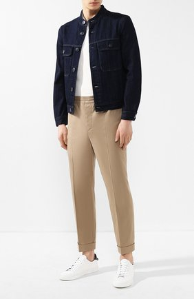 Мужская джинсовая куртка GIORGIO ARMANI синего цвета, арт. 3GSB67/SDP5Z | Фото 2