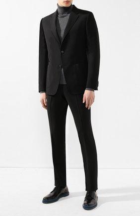 Мужской шерстяной костюм Z ZEGNA черного цвета, арт. 524727/2XPWGX | Фото 1