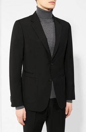 Мужской шерстяной костюм Z ZEGNA черного цвета, арт. 524727/2XPWGX | Фото 2
