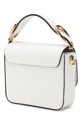 Женская сумка chloé c mini CHLOÉ белого цвета, арт. CHC19US193A87 | Фото 3