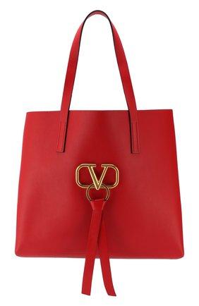 Сумка-тоут Valentino Garavani V-Ring  | Фото №1