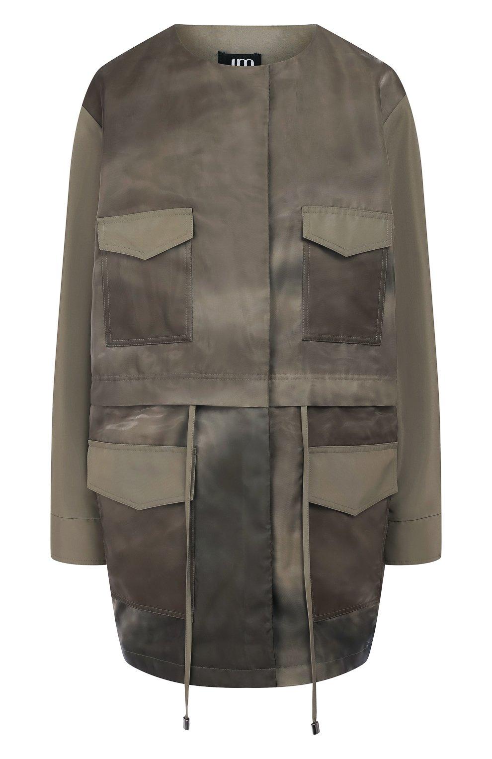 Куртка с накладными карманами | Фото №1