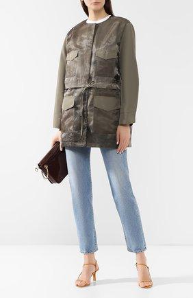 Куртка с накладными карманами | Фото №2