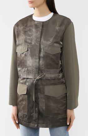 Куртка с накладными карманами | Фото №3