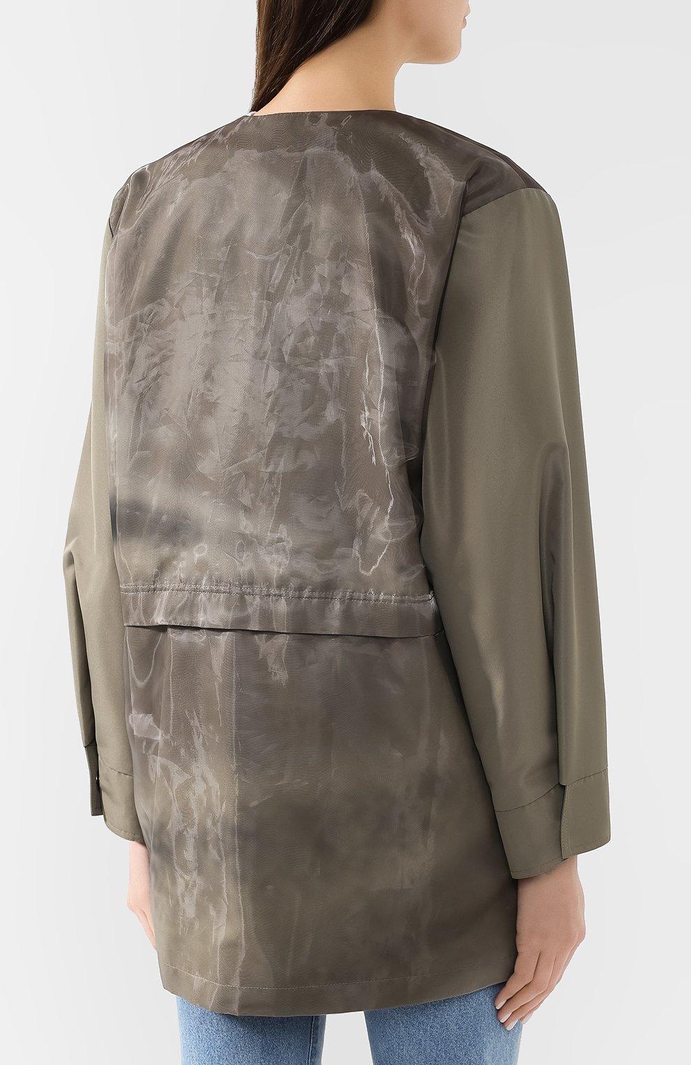 Куртка с накладными карманами | Фото №4