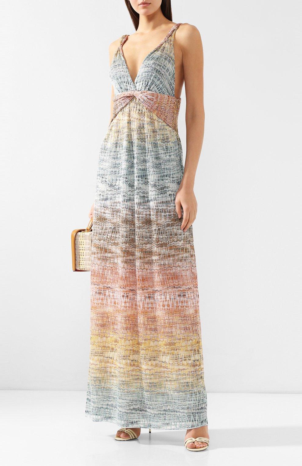 Платье-макси Missoni разноцветное | Фото №2