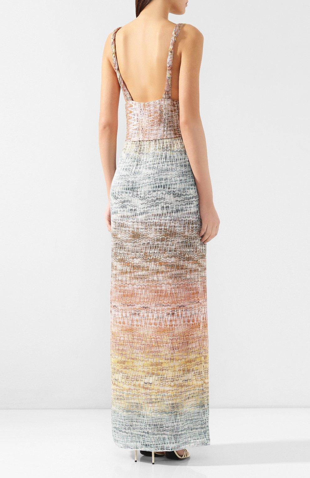 Платье-макси Missoni разноцветное | Фото №4