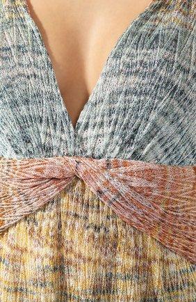 Платье-макси Missoni разноцветное | Фото №5