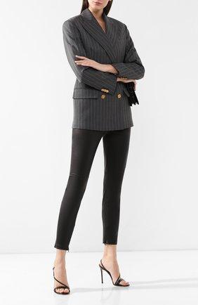 Женские кожаные брюки RALPH LAUREN черного цвета, арт. 290618854 | Фото 2